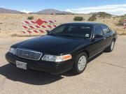 FORD CROWN VICTORIA Ford Crown Victoria Police Interceptor Sedan 4-Doo